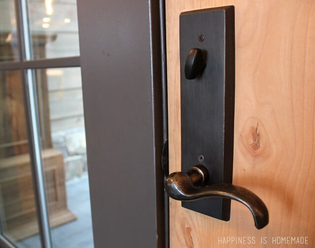 Door Hardware at the 2014 HGTV Dream Home