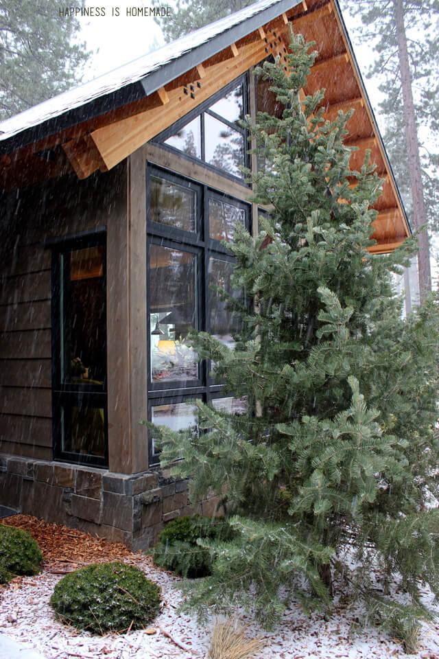Exterior of the 2014 HGTV Dream Home