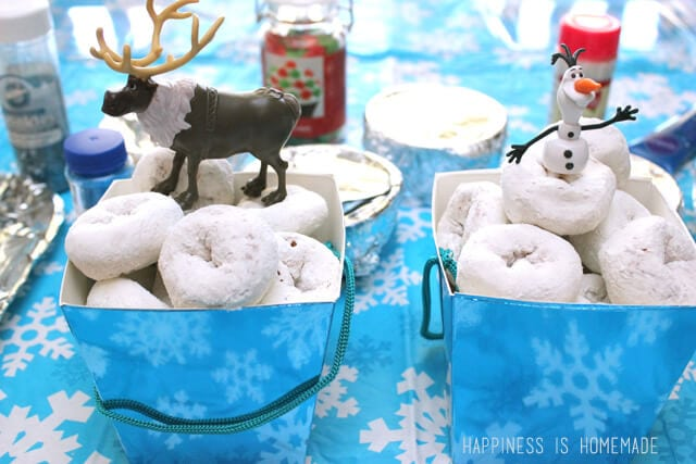 FROZEN Sven and Olaf Figurines and Snow Ball Donuts #FrozenFun #cbias #shop