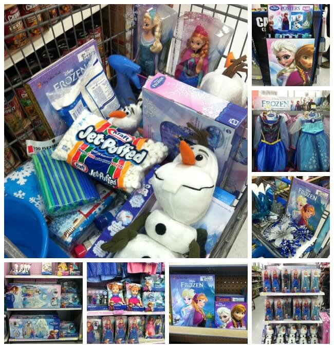 FROZEN Toys & Merchandise at Walmart #FrozenFun #cbias #shop