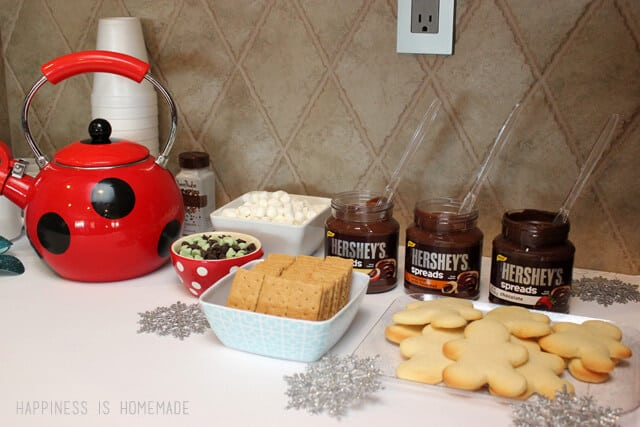 Hershey's Chocolate Spreads and Hot Cocoa Bar