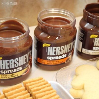 Hot Cocoa & Hershey's® Chocolate Dip S'mores Bar