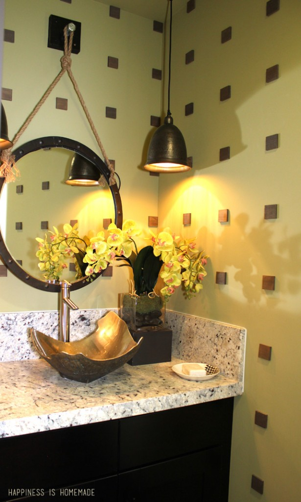 Incredible Bathroom Sink and Delta Faucet at the 2014 HGTV Dream Home