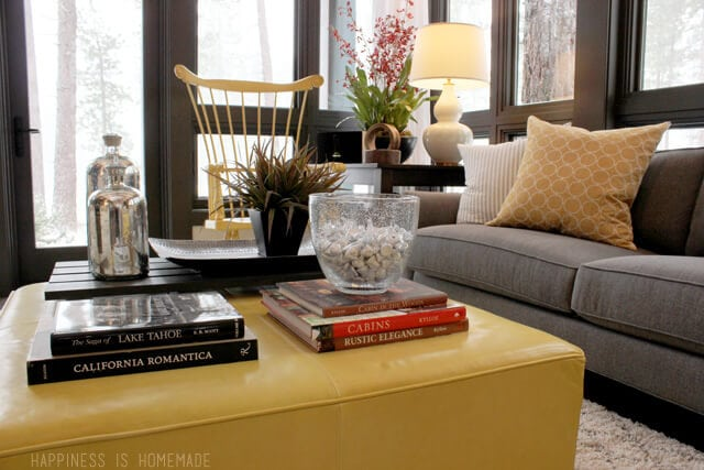 Living Room at the 2014 HGTV Dream Home