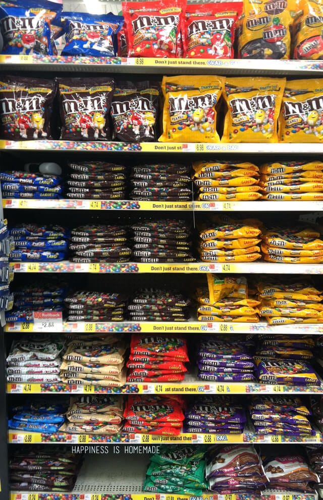 M&M Section at Walmart #shop