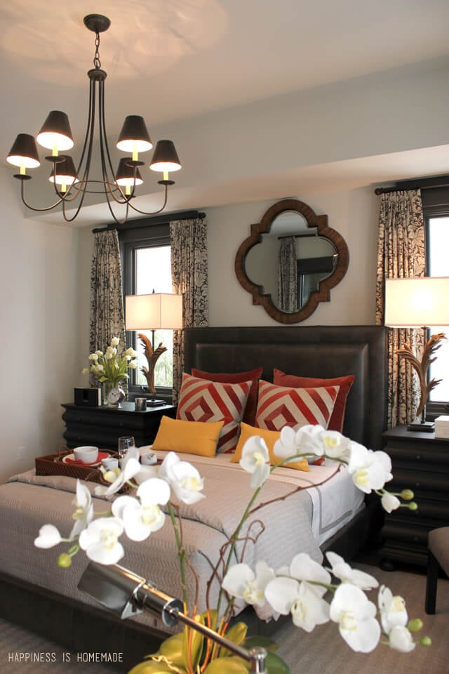 Master Bedroom at the 2014 HGTV Dream Home