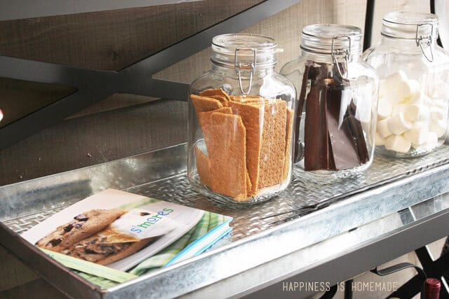 Outdoor S'mores Station at the 2014 HGTV Dream Home