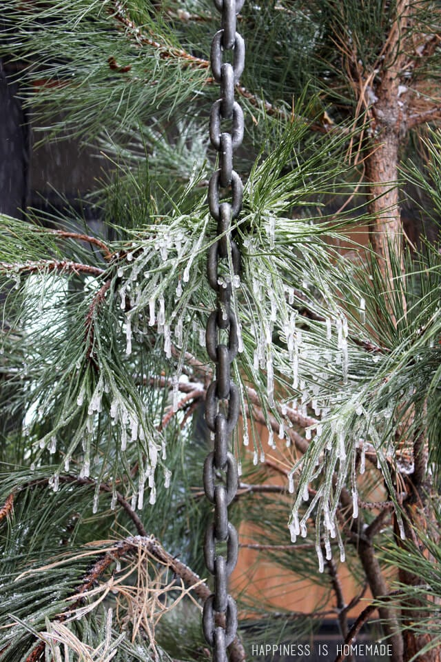 Rain Chains & Icicles at the 2014 HGTV Dream Home