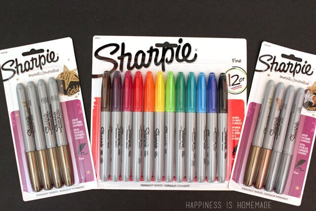 15-Minute Gift Idea: Easy DIY Sharpie Decorated Candle