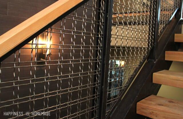 Stair Railing Detail at the 2014 HGTV Dream Home