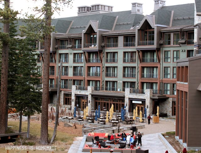 The Ritz-Carlton Hotel in Lake Tahoe