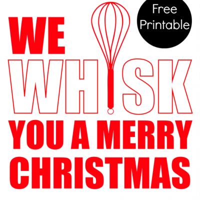 Merry Whiskmas Printable
