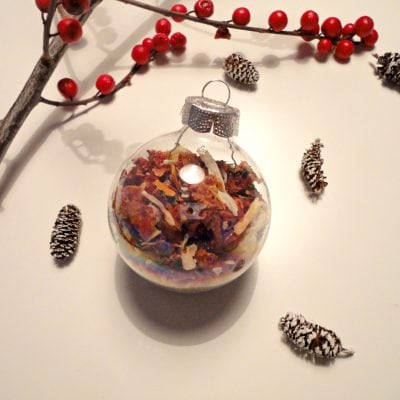 DIY Christmas Ornament Gifts