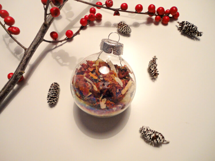 DIY Christmas Ornament Gifts - Happiness is Homemade