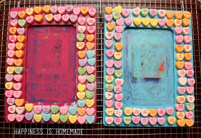 Conversation Heart Kids Craft for Valentine's Day