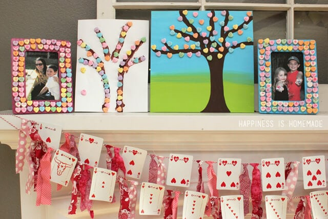 Conversation Heart Trees and Frames