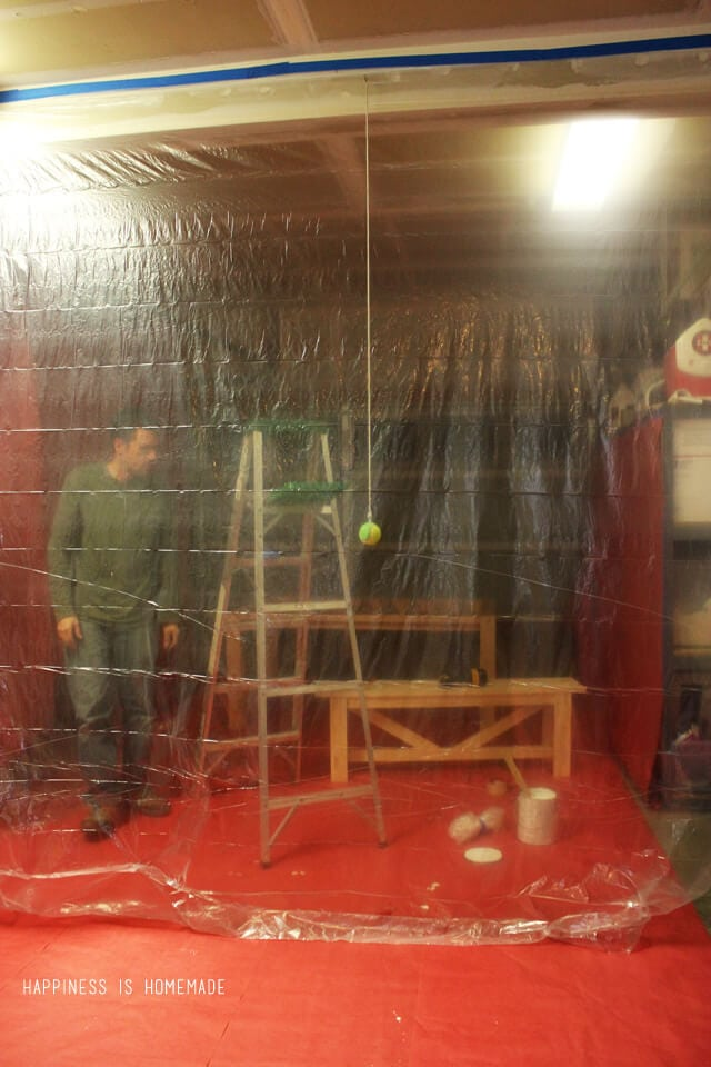 DIY Paint Booth