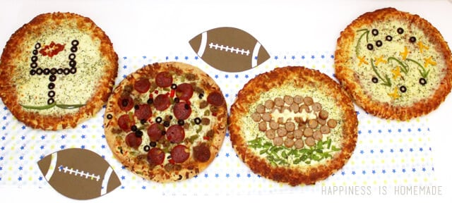 DiGiorno Football Themed Party Pizzas