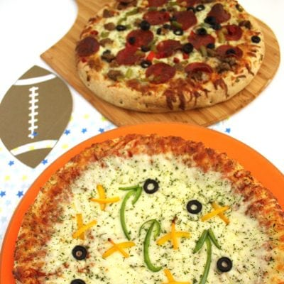 Football Themed Pizzas – Perfect for the Big Game!