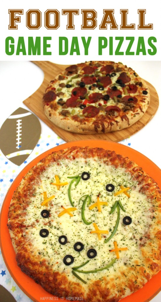 Football Game Day Pizzas