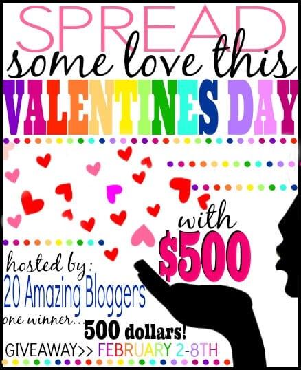 Valentines $500 Cash Giveaway