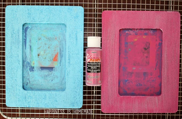 Valentine's Day Kids Craft - Conversation Heart Frames