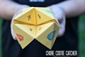 Chore Cootie Catcher
