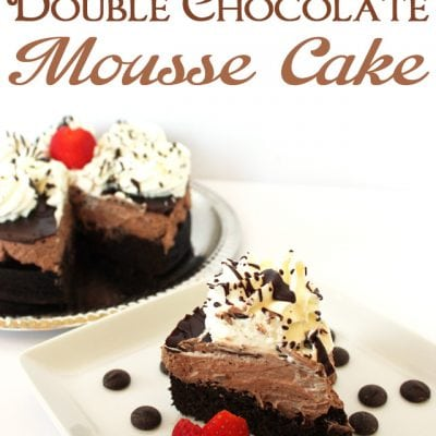 Ghirardelli Double Chocolate Mousse Cake