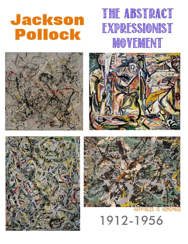 Jackson Pollock Painting Examples