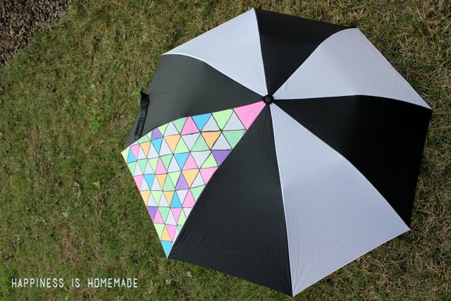 Neon Fabric Marker Umbrella