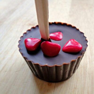 Valentine's Hot Chocolate Sticks