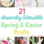 21 Insanely Adorable Spring & Easter Crafts