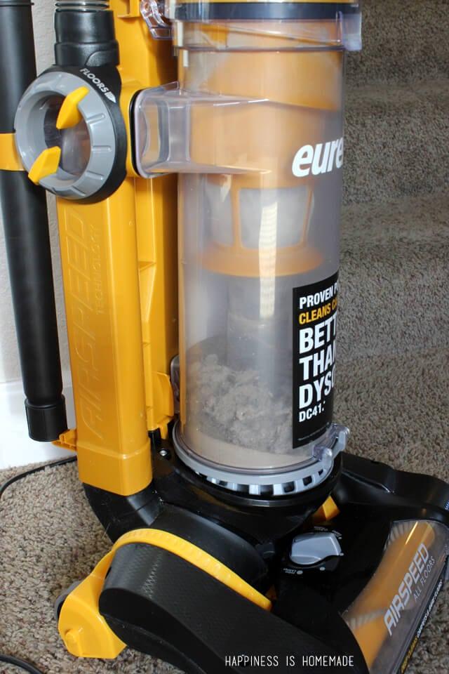 Amazing Suction Power on the Eureka AirSpeed All Floors Vacuum