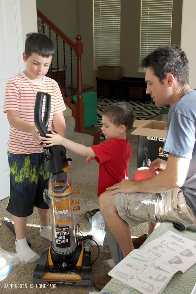 Assembling the Eureka AirSpeed All Floors Vacuum is a Snap