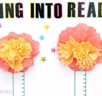 Spring Reading Incentive Chart