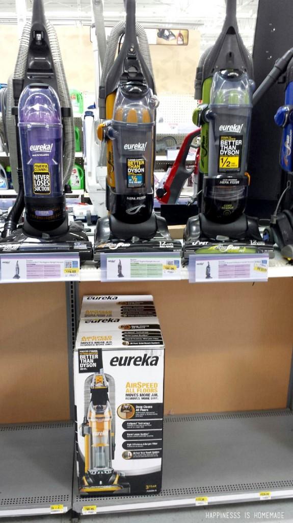 Eureka Vacuums at Walmart