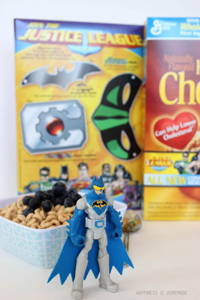 General Mills Cereal with Justice League Comic Books Inside