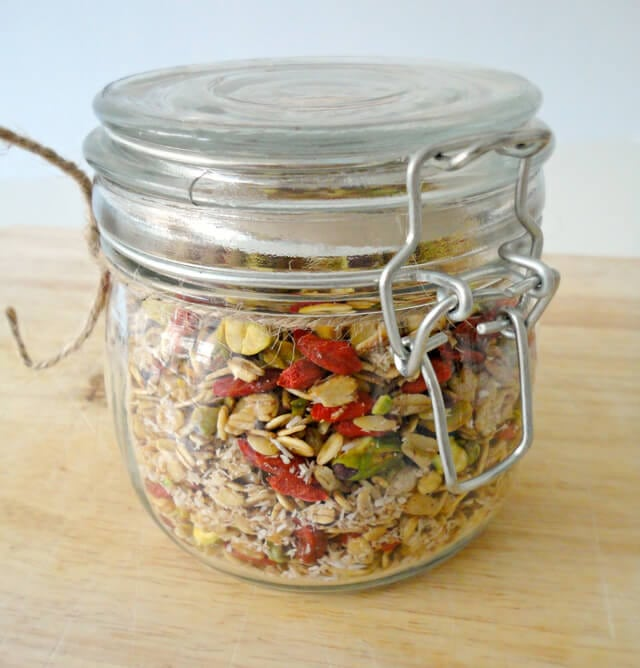 Granola With Goji Berries