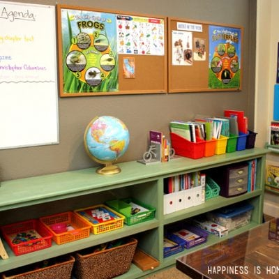 Making Progress: Our Homeschool Room