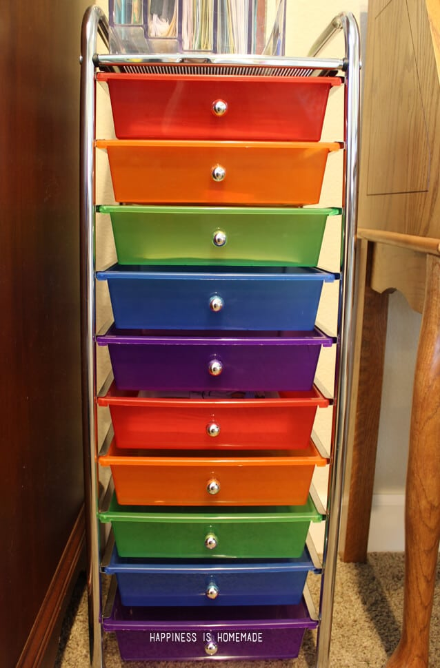 Homeschool Workbox Drawers