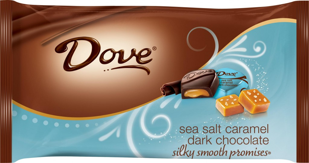 Dove Sea Salt Caramel Dark Chocolate Promises