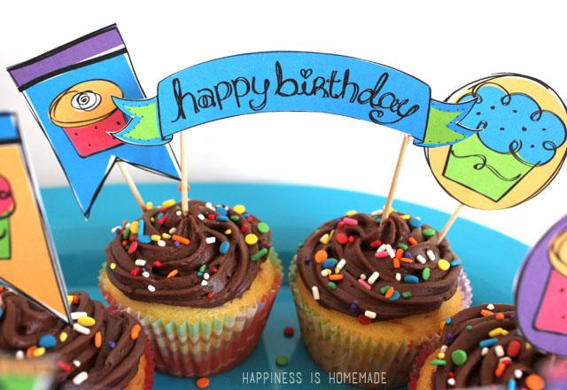 Happy Birthday Party Printables