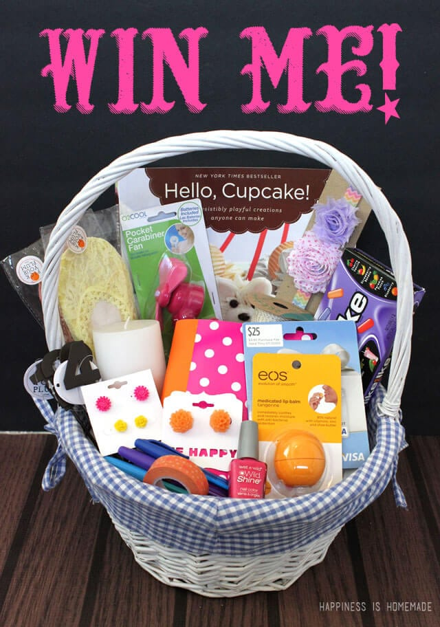 Mothers day gift basket ideas happiness is homemade mothers day gift basket and 25 visa gift card giveaway negle Images