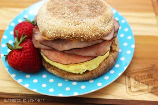 Oscar Mayer Bold Sweet and Spicy Breakfast Sandwich