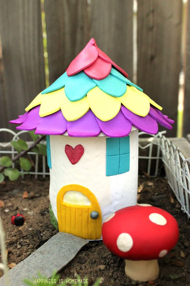 Make your own fairy garden houses decorations for Garden decorations to make