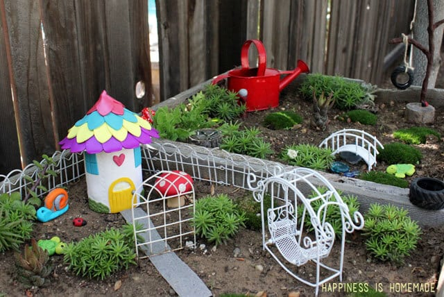 Houses Decorations make your own fairy garden houses & decorations - happiness is