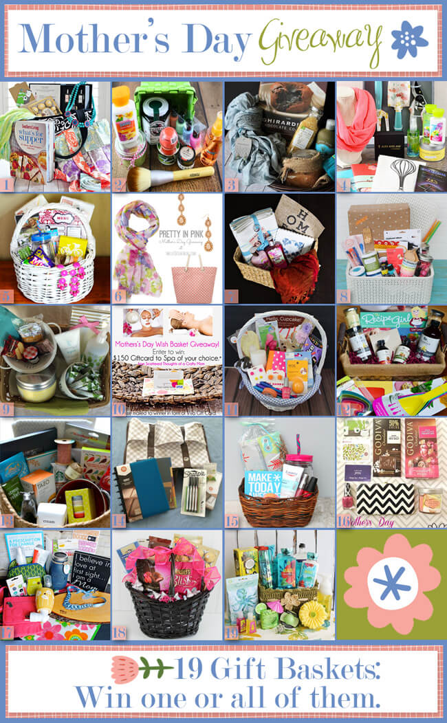 Mother S Day Gift Basket Ideas Happiness Is Homemade