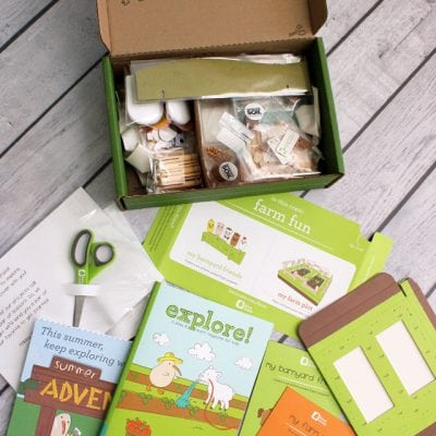 Hands-On Summer Fun with Kiwi Crate