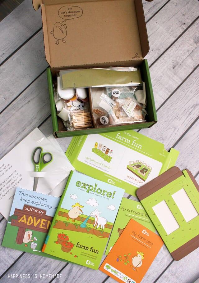 Kiwi Crate Summer Adventure Kit Kids Activity Box