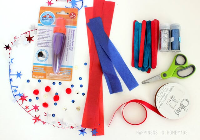 4th of July Kids Craft Supplies